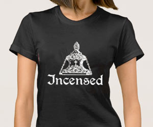 Incensed podcast Christian T-shirt