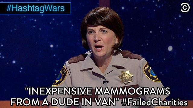 inexpensive mammograms from dude in a van