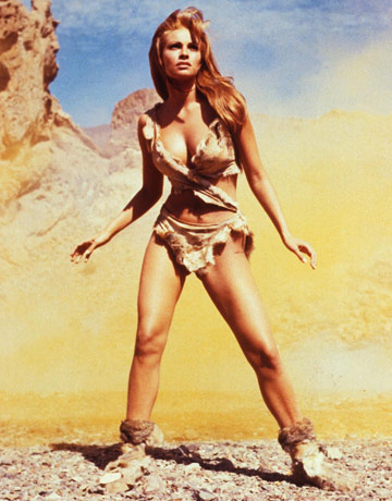 raquel welch in 1 million b.c.