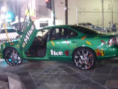 mike and ikes car