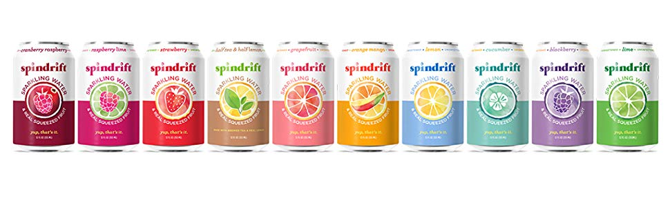 flavored sparkling waters