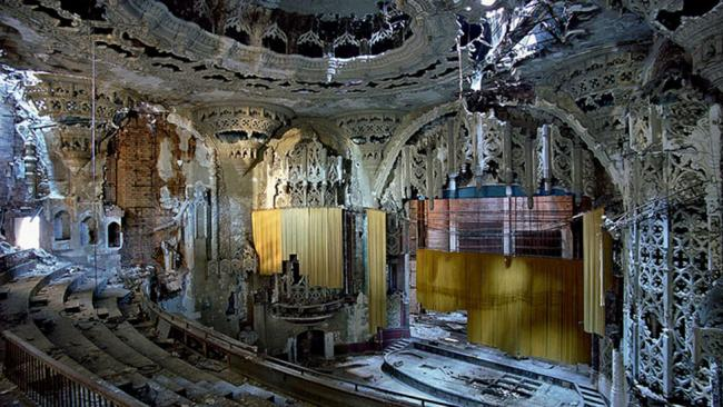the united artists theater in detroit