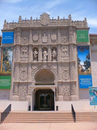 the gallery at the san diego museum of art
