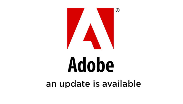 adobe - an update is available