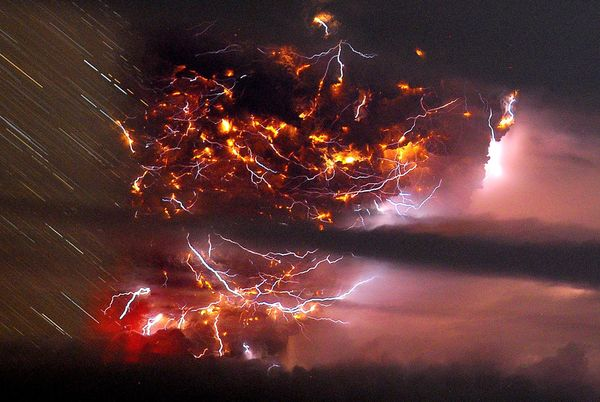 chile''s puyehue volcano