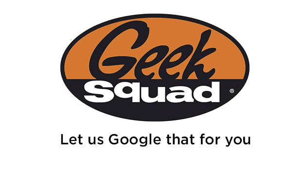geek squad - let us google that for you