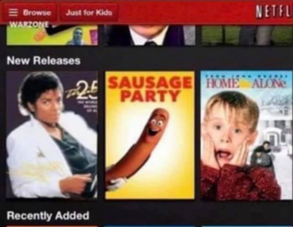 michael jackson sausage party home alone