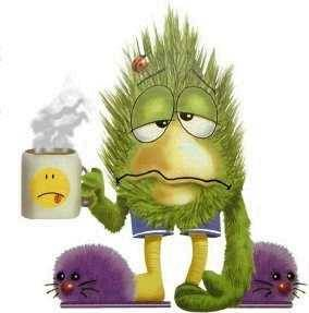 is sick and tired of being sick and tired. =(