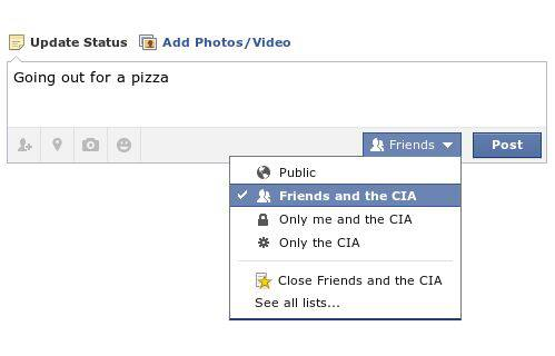 new facebook share feature