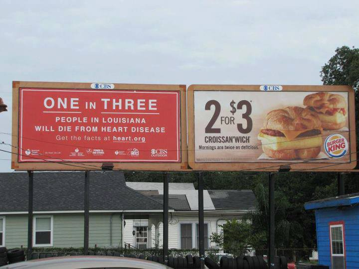 heart disease burger king