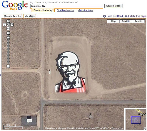 images found in google maps
