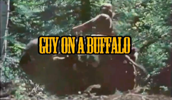 guy on a buffalo - episode 2