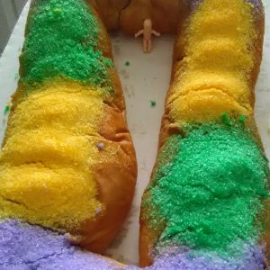 king cakes in louisiana
