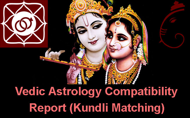 vedic astrology compatibility report