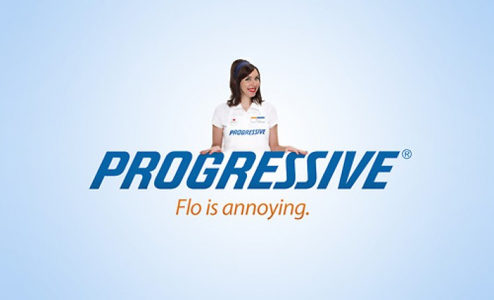 progressive - flo is annoying
