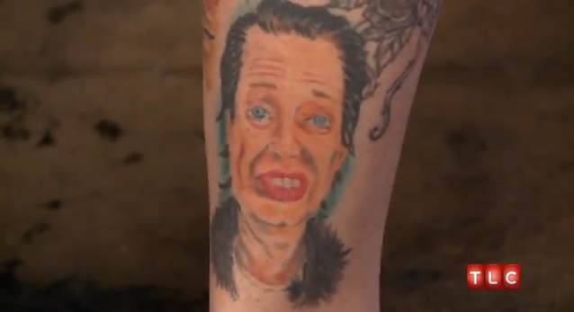 the steve effing buscemi tattoo