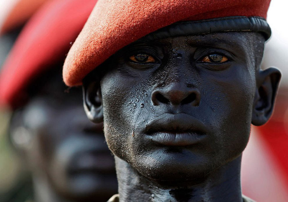 south sudan soldier