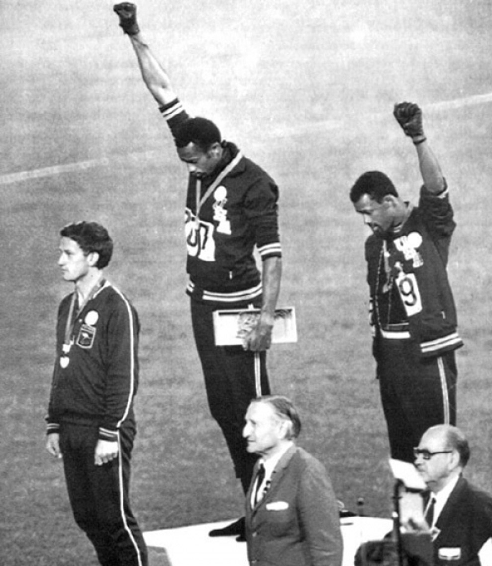 1968 olympics black power salute
