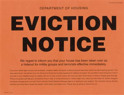 eviction notice pink