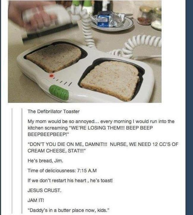 bread defibrilator