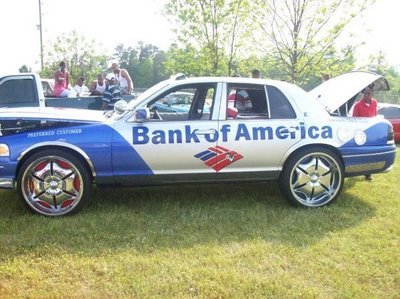 bank of america car