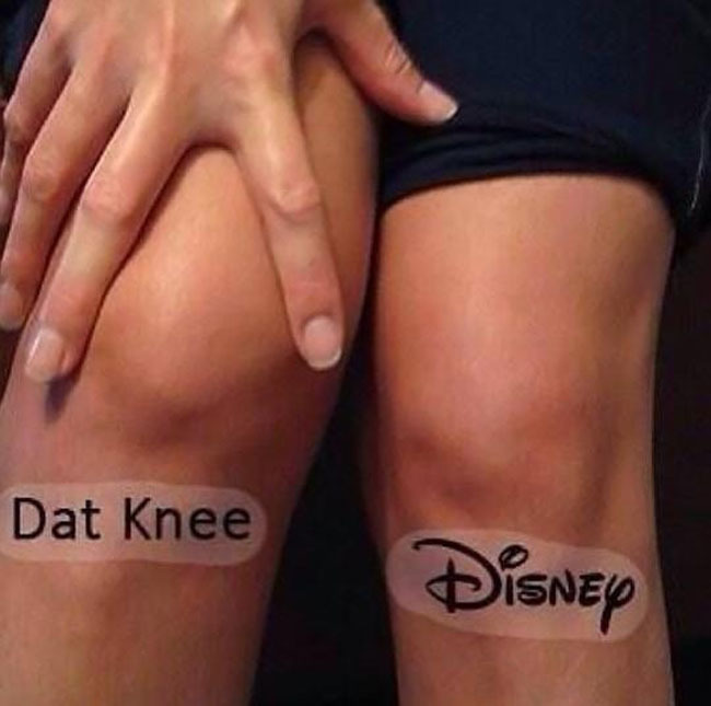 my knees