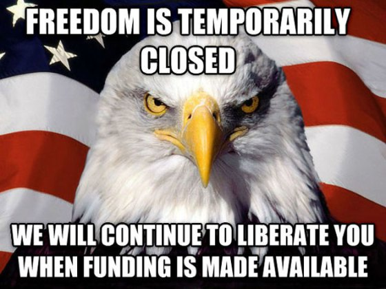 freedom is closed