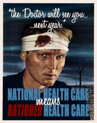 nationalized health 'care'
