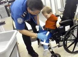 the tsa can strip-search a 3-year-old in a wheel chair but woman in a hijab can only have her neck searched