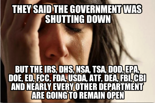 shutdown bait and switch