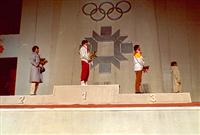 the medal ceremony