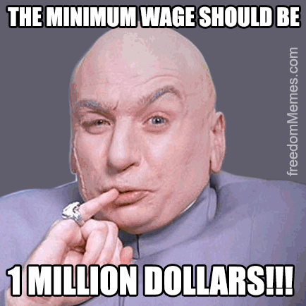minimum wage helps the poor