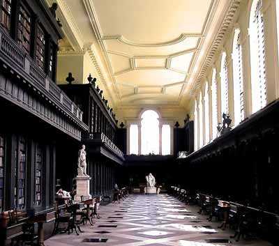 codrington library, all soul's college, oxford university, oxford, uk