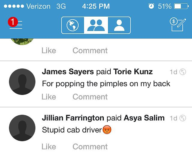 hilarious venmo captions