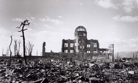 lone remaining building in hiroshima