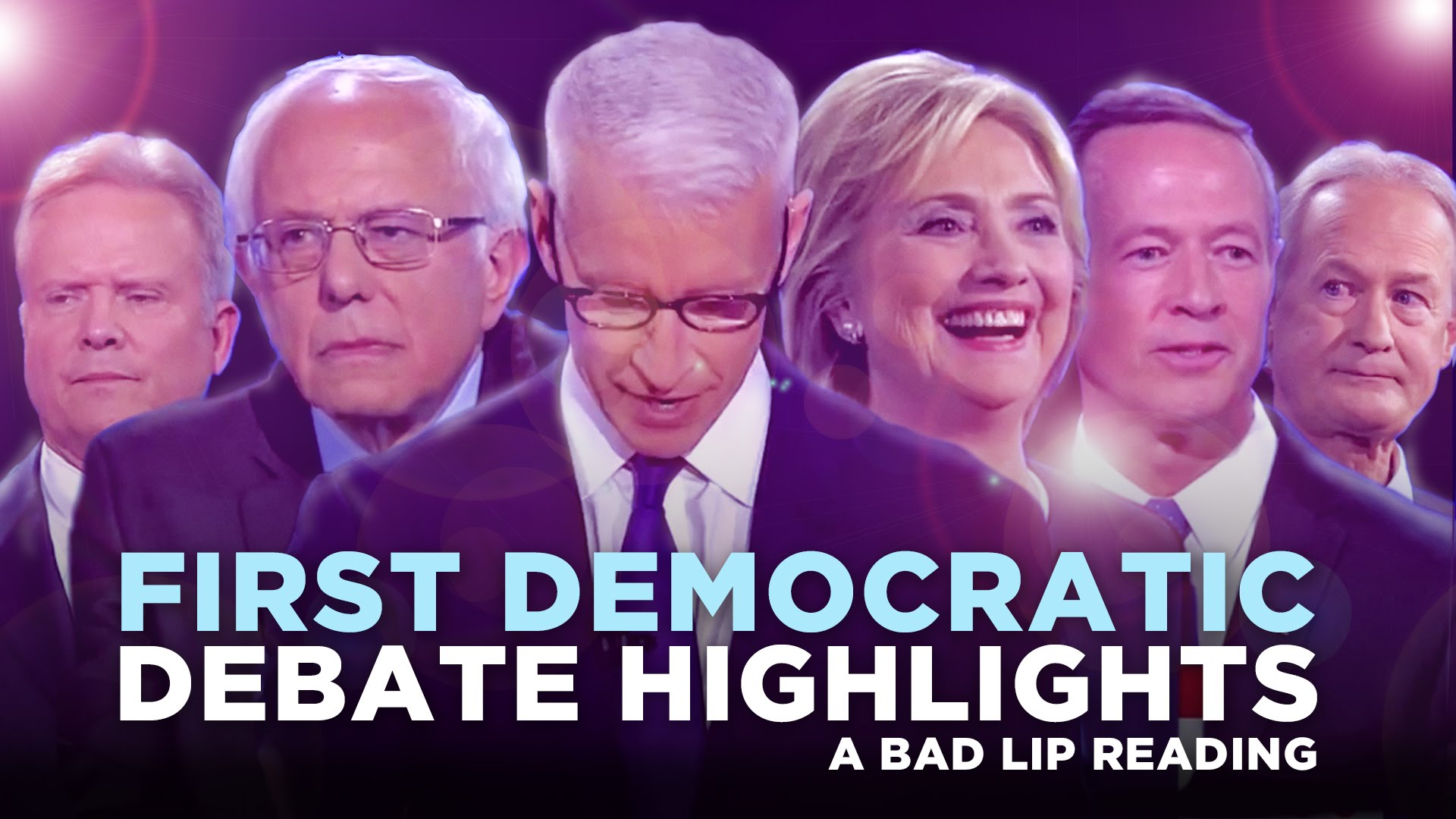 a bad lip reading of the first democratic debate