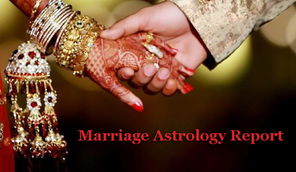 marriage astrology report - astrolika.com