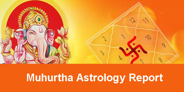 muhurtha astrology report - astrolika.com